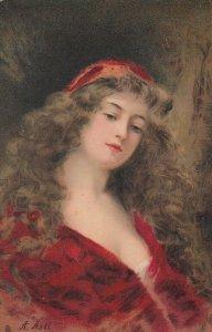 ASTI :  Female Head Portrait BEATRICE , 1900-10s ; TUCK 2731