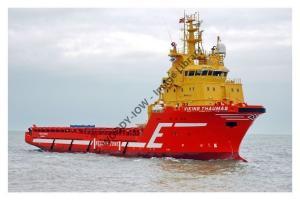 ap0954 - Norwegian Oil Rig Supply - Viking Thaumas , built 2005 - photo 6x4
