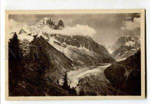 401665 FRANCE CHAMONIX mountaineering Vintage postcard