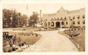 LP53 Lake Wawasee Indiana Vintage Postcard RPPC Hotel