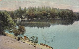 Horse Shoe Lake, BATAVIA, New York, PU-1907