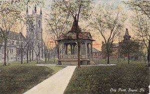 Pennsylvania Sayre City Park 1912