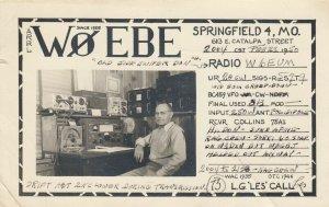 RP; SPRINGFIELD , Missouri , 1950 ; Qsl Radio station