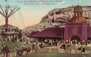 Willow Grove Park , Pennsylvania , 1908 ; Captive Flying Machine