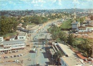 Cameroun Place Amadou Ahidjo Yaounde postcard