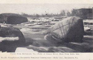 RICHMOND , Virginia , 00-10s ; Falls of James River