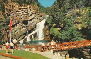 Cameron Falls Waterton Lakes Alberta Canada