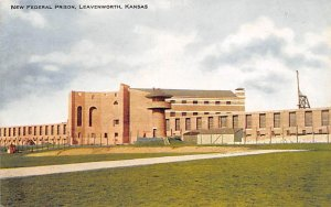 New Federal Prison Leavenworth, Kansas, USA Unused