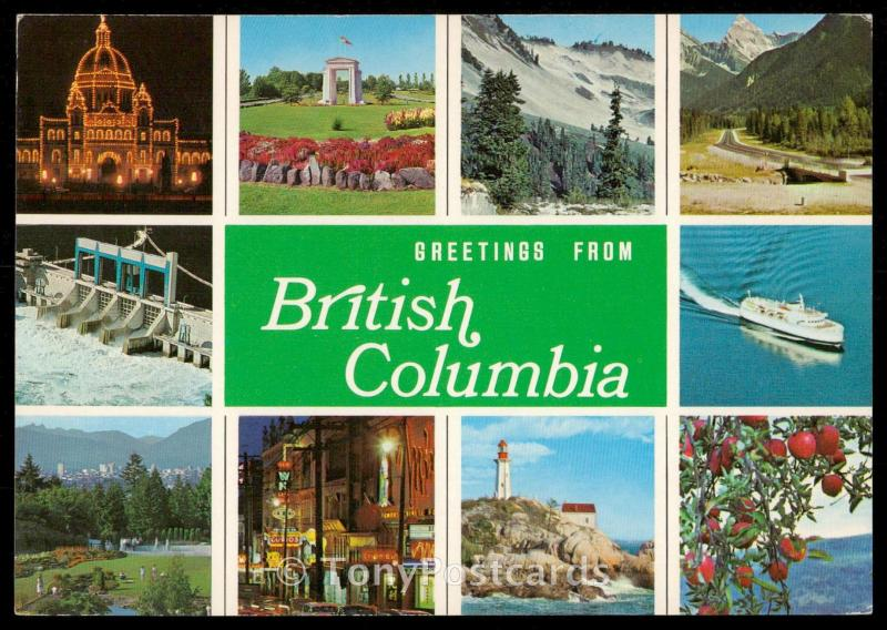 Greetings from British Columbia