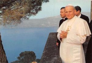 Italy Castelgandolfo (Roma) Pope Giovanni Paolo II in his Summer residence