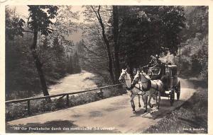 Mit der Postkutsche durch das romantische Schwarzatal, Pferde Horse Carriage