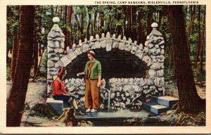 Pennsylvania Biglerville Camp Nawaka The Spring