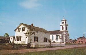 Near CORNWALL, Ontario, Canada, 1940-1960's; Christ Church And The Pastor's H...