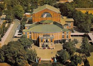 Bayreuth Richard Wagner Festspielhaus Air view