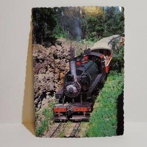 Vintage Postcard 1880 Train at Tin Mill Hill City Keystone South Dakota 1989