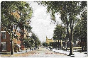 Grand Street Looking South Newburgh New York