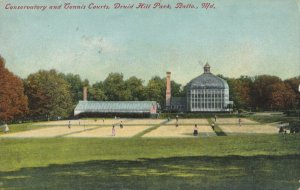 BALTIMORE, Maryland, 1900-1910s; Druid Hill Park Tennis Courts
