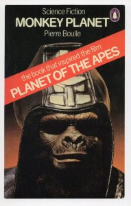 Monkey Planet Of The Apes 1975 Pierre Boulle Book Postcard