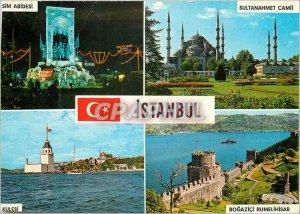 Postcard Modern Istanbul Turkey