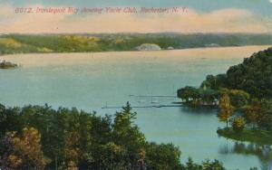 Yacht Club on Irondequoit Bay - Rochester, New York - pm 1912 - DB