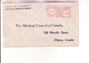 Cover to Medical Council of Canada, City of Calgary Health Department 4 Cent ...
