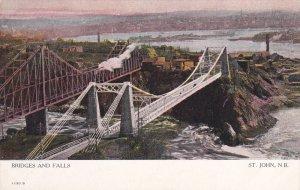ST. JOHN , New Brunswick , Canada , 00-10s ; Bridges & Falls Version-2