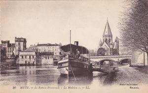 METZ, Moselle, France, 1900-1910's; Le Bateau Promenade, La Madelon