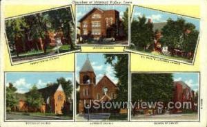 Churches of Missouri Valley Mo Valley IA Unused
