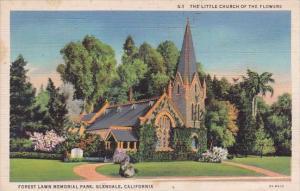 California Glendale Forest Lawn Memorial Park 1935