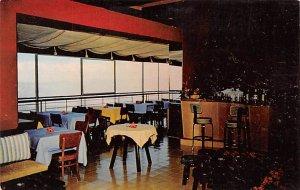 Haiti Post card Old Vintage Antique Postcard Main Dining Room, Le Perchoir Po...