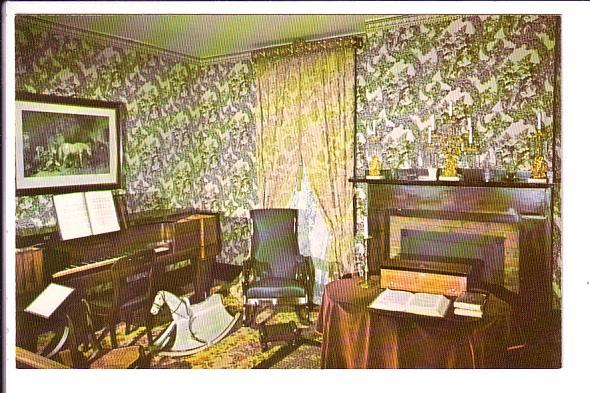 Sitting Room, Lincoln's Home, Interior, Springfield, Illinois, 1970
