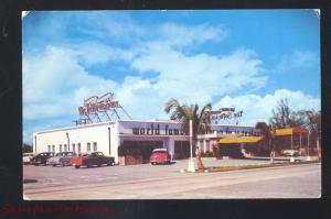 HALLENDALE FLORIDA HOFBRAU HAUS RESTAURANT OLD CARS