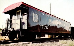Trains Green Bay & Western Railroad Company Business Car Number 1776
