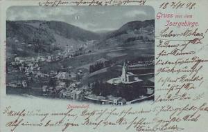 Gruss aus  Isergebirge ,  Austria , PU-1898 ; Dessendorf, now in Czech Republic