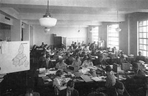 London, Milk Marketing Board Marketing Department corner 1934 Nostalgia Reprint