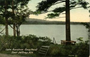 NH - East Jaffrey. Long Pond (also known as Lake Sunshine)