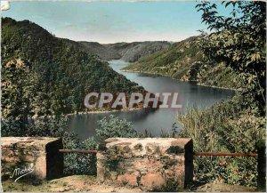 Postcard Modern Dordogne Correze Cantal Gorges Dam Eagle