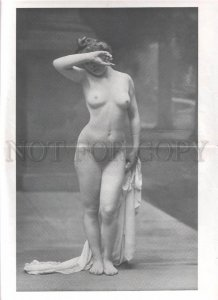 092727 ART NOUVEAU FRENCH NUDE RISQUE GIRS phototypes #125-128