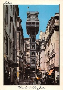 B108691 Portugal Lisboa The Elevator of St. Justa