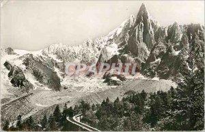 Modern Postcard Chamonix Aiguille du Dru