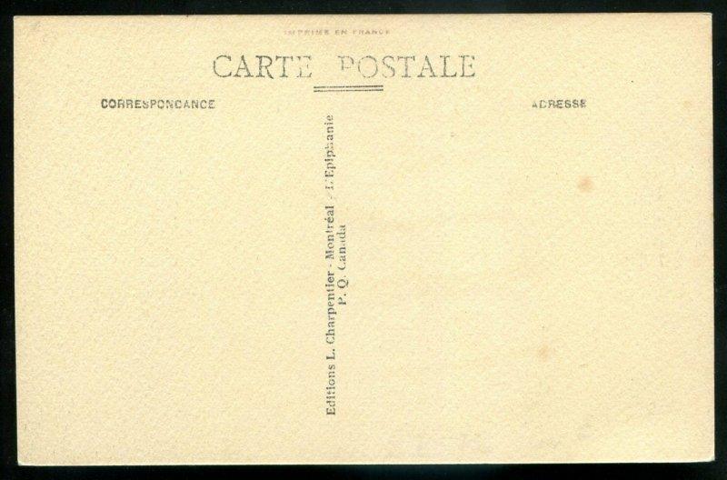216 - ST. HYACINTHE Quebec Postcard 1910s Yamaska River. Factory