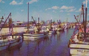 Florida Tampa Shrimp and Fishing Boats