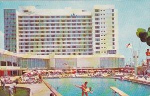 Deauville Hotel Pool Miami Beach Florida 1967
