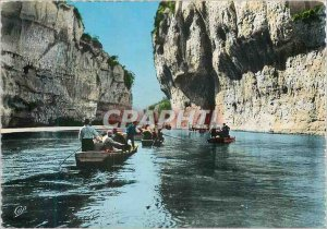 Modern Postcard The Tarn Gorges The Detroits Boats Boats