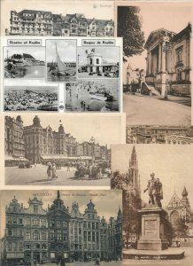 Belgium - Postcard Lot of 40 -   01.01