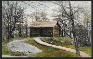 Log Cabin Rockwood Park St John NB CANADA Used c1907