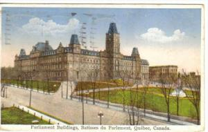 Parliament Buildings , QUEBEC , Canada , PU-1934