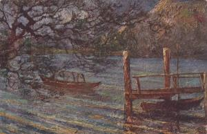 The Lake, Pino (Piedmont), Italy, 1900-1910s