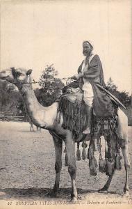 Egypt Scenes et Types d'Egypte Bedouin dans Kantarah, Native, Camel