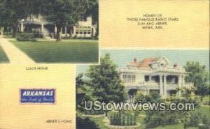 Lum's Home, Abner's Home, Radio Stars